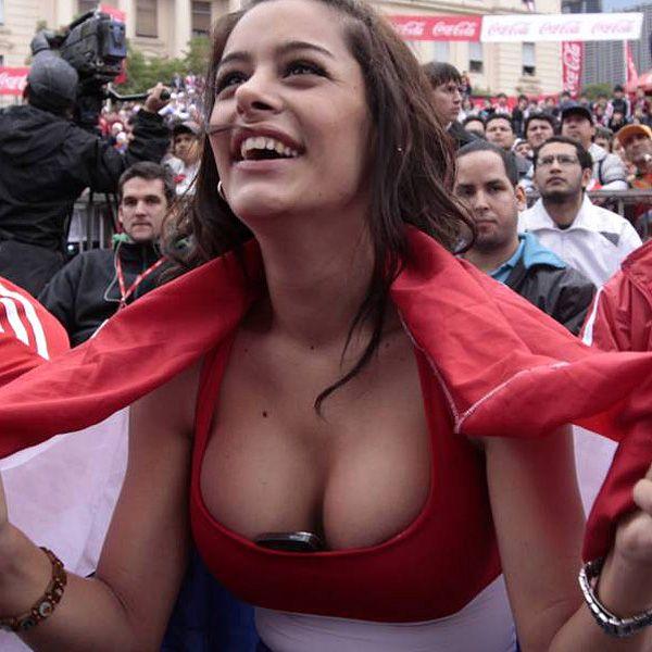 Larissa Riquelme - Cute Paraguay Fan (11 pics)