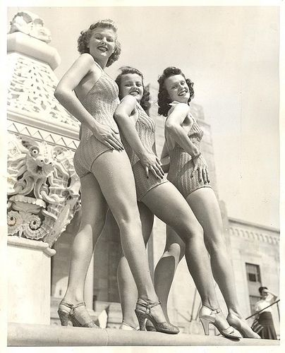Retro Bathing Suits (73 pics)