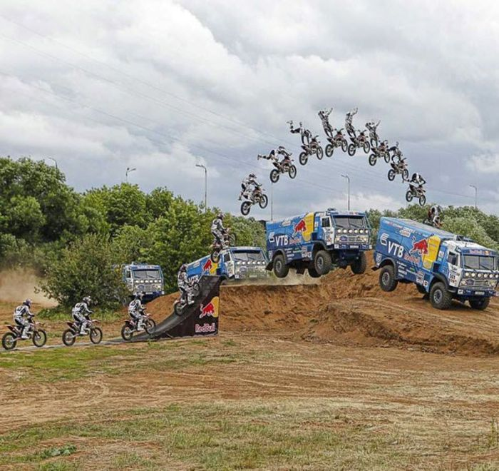 The Best Bike Stunts (30 pics)