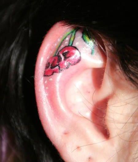 The Craziest Ear Tattoos (13 pics)