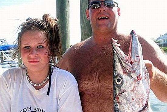 A Barracuda Attacked a 14-Year-Old Girl (5 pics)