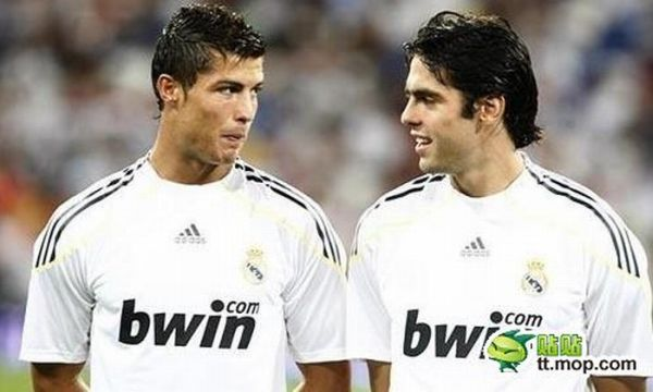 Cristiano Ronaldo and Kaka. Happy Together (30 pics)