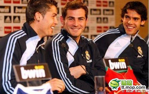 Cristiano Ronaldo and Kaka. Happy Together (30 pics)