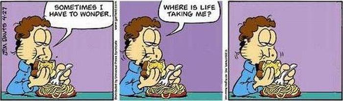 Garfield Minus Garfield (86 Pics)