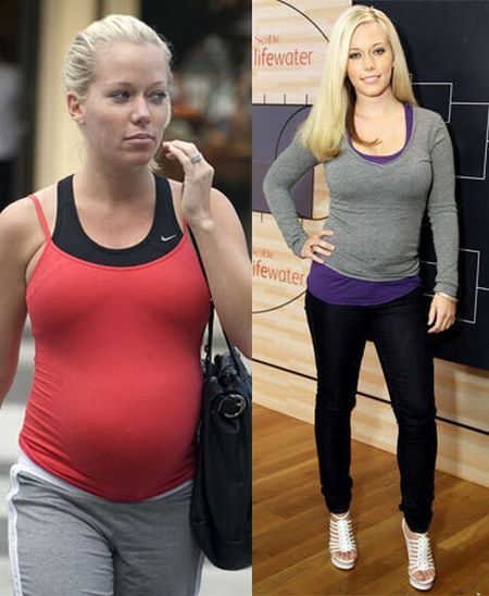 Hollywood Moms Before and After Baby (41 pics)
