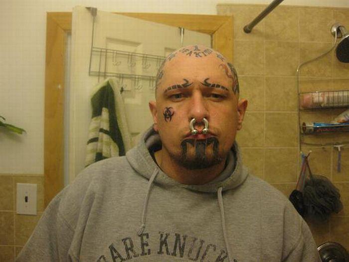 Transformation of a Piercing Addict (11 pics)