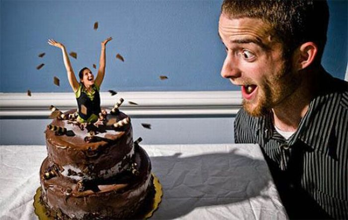 Creative and Surreal Photos of One Couple (39 pics)