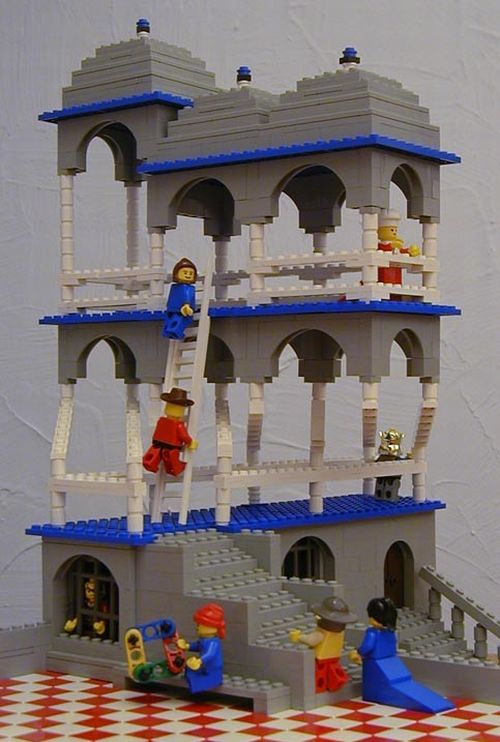 M.C. Escher Art Recreated Using LEGO Bricks (10 pics)