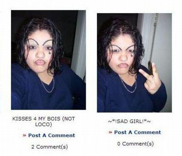 Funny Emo Girl (6 pics)