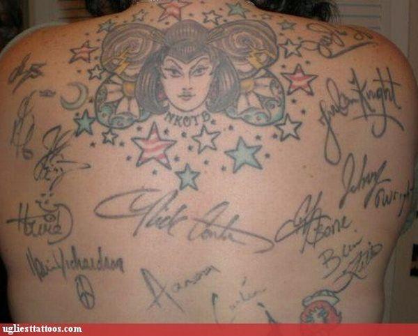 The Ugliest Tattoos (60 pics)