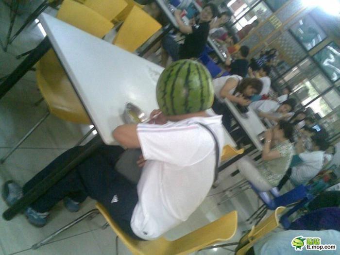 Watermelon Helmet (3 pics)