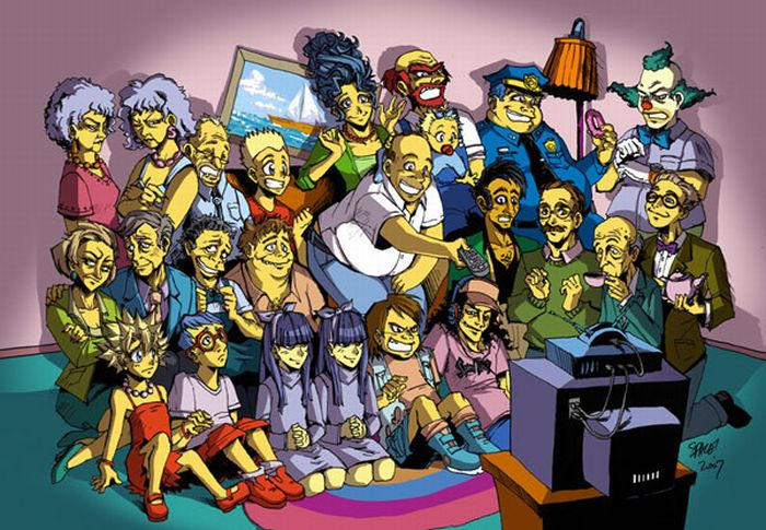 Different Sides of Simpsons (10 pics)