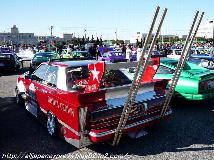 Bōsōzoku-Style Cars (49 pics)