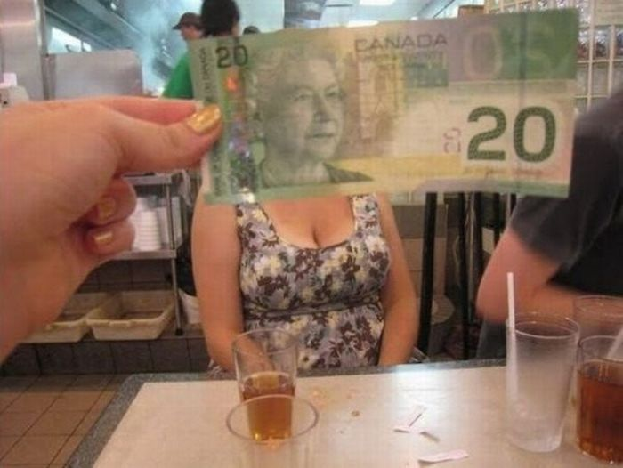 Fun with Money Bills (47 pics)