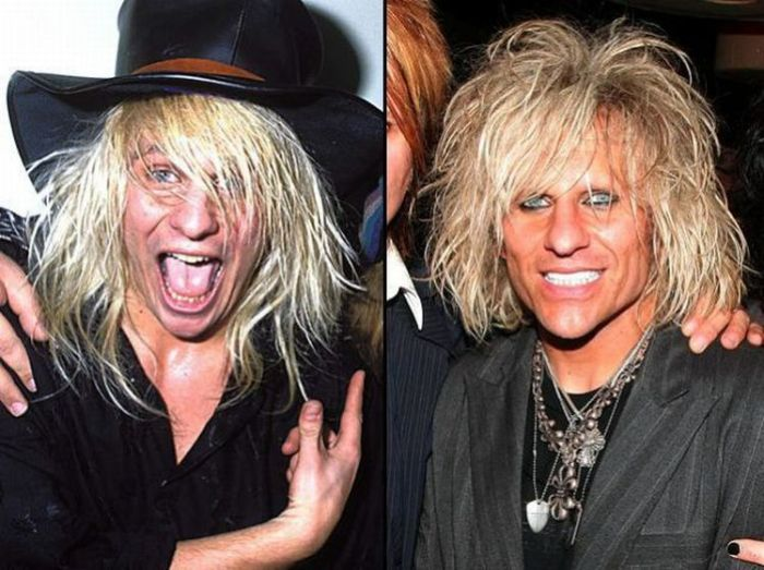 Rock Stars Then and Now (49 pics)
