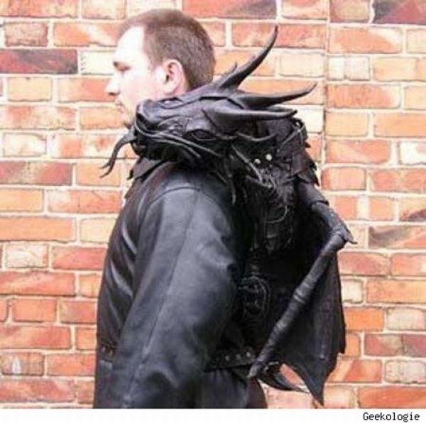 The Most Unusual Backpacks (28 pics)
