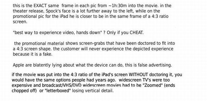 Apple is Cheating? (5 pics)
