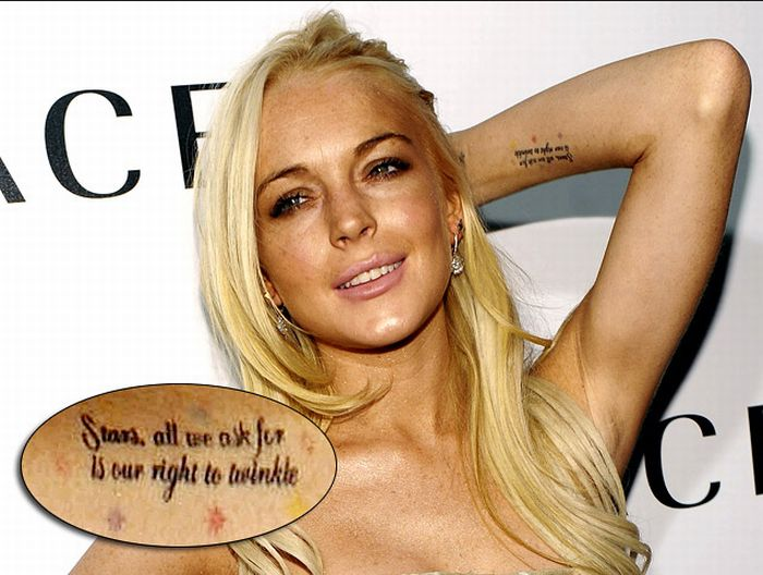 Celebrity Tattoos (75 pics)