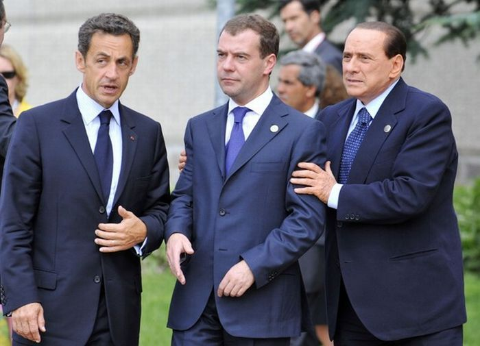 Funny Photos of Russian President Medvedev (20 pics)