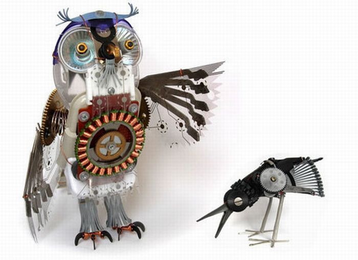 Terrific Works of Art Made From Common Trash (40 pics)