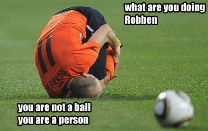 Arjen Robben Photo Manipulations (38 pics + 3 gif)