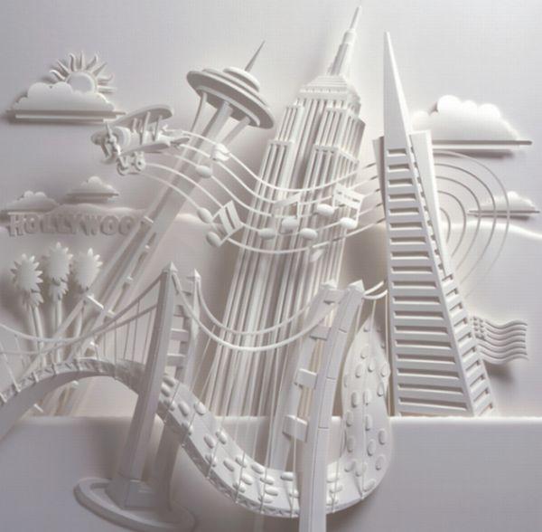 Beautiful Paper Sculptures (10 pics)