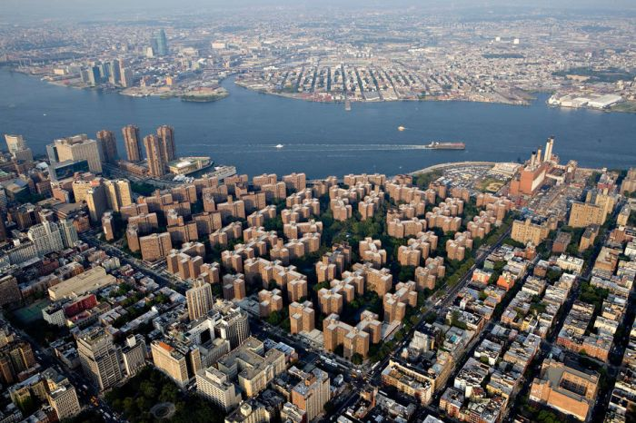 New york city from above for Peter cooper village
