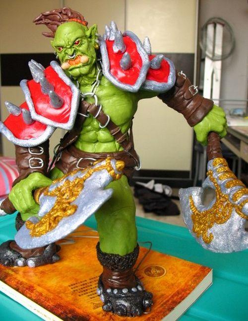 World Of Warcraft Cake Designs