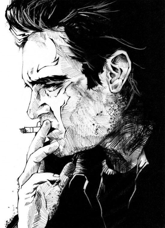 Drawings by Andreas Preis (19 pics)