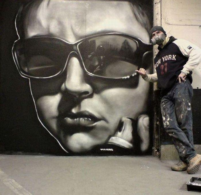 Faces in Graffiti (58 pics)