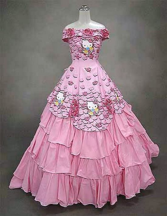 Unusual Wedding Dresses (27 pics)