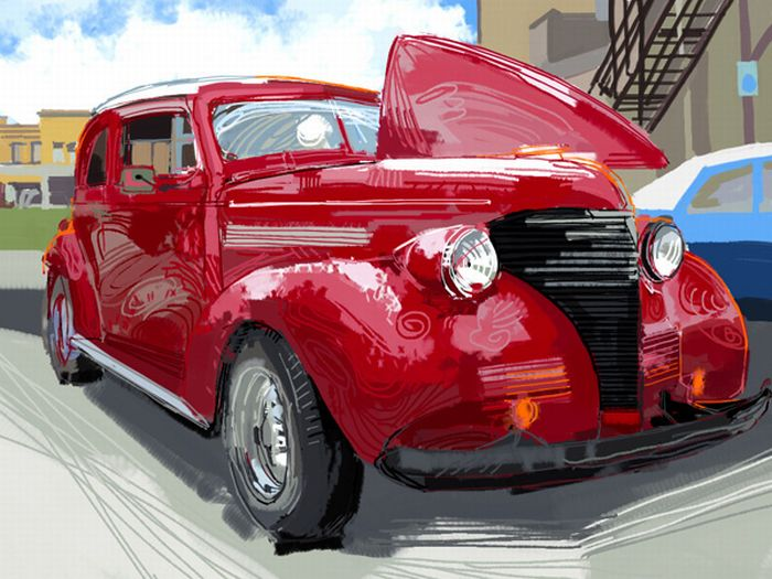 Beautiful Examples of iPad Finger Painting (20 pics)