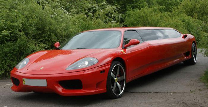 Ferrari Limousine (9 pics + video)