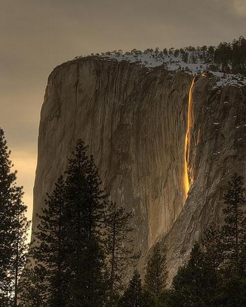 Horsetail Fall (13 pics + video)