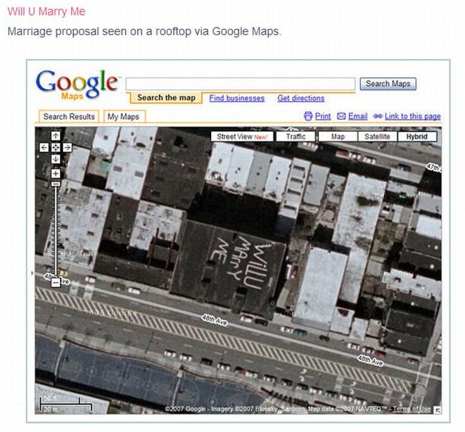 The Most Interesting Google Earth Photos (38 pics)