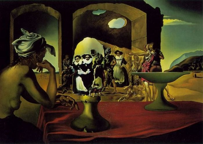 Optical Illusions in the Paintings of Salvador Dali (18 pics)