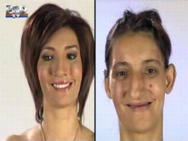 Women Before and After a TV Show (31 pics)