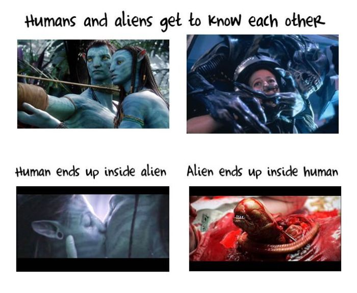 Avatar and Aliens Are The Same Movie (6 pics)