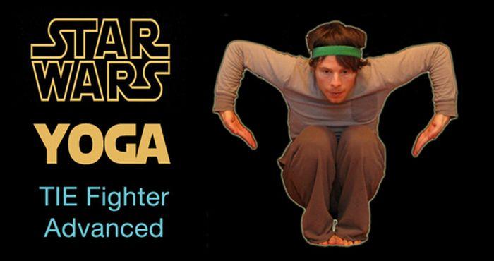Star Wars Yoga (13 pics)