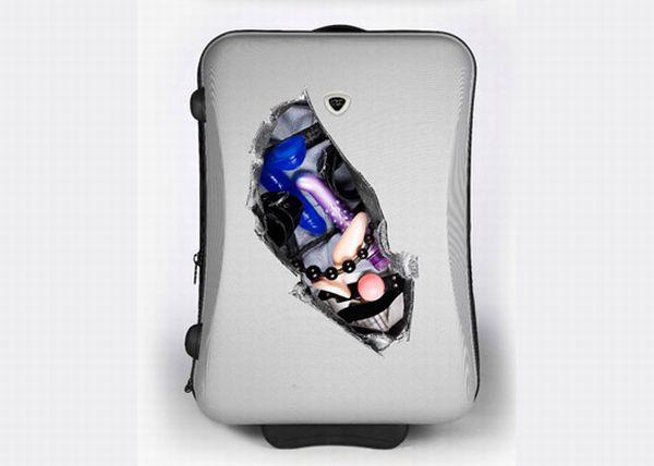 Suitcase Stickers (4 pics)