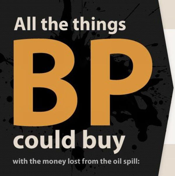 All the Things BP Could Buy (29 pics)