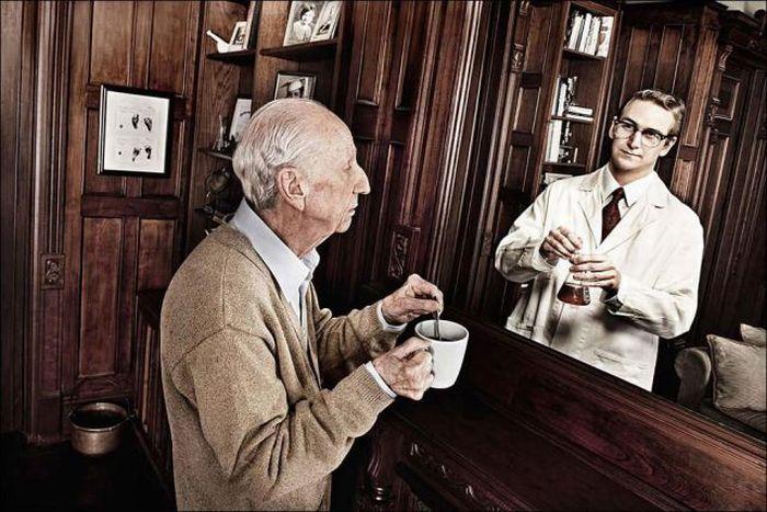 Espejo de memorias por Tom Hussey