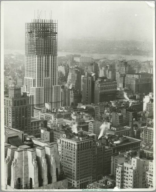 The Construction of Empire State Building (64 pics)