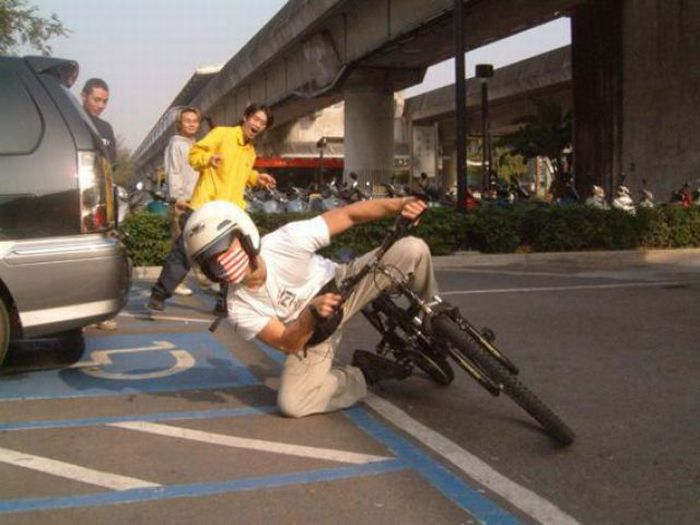 How to Look Cool Riding Anything (13 pics)