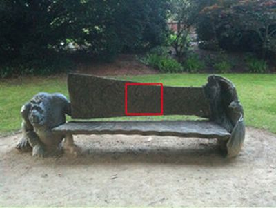 A Bench With Surprise (3 pics)