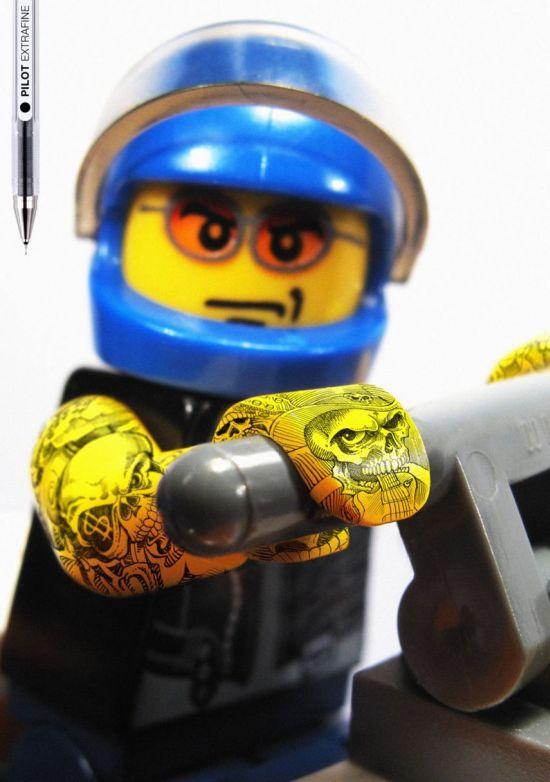 Cool Ads. Bad Lego (6 pics)