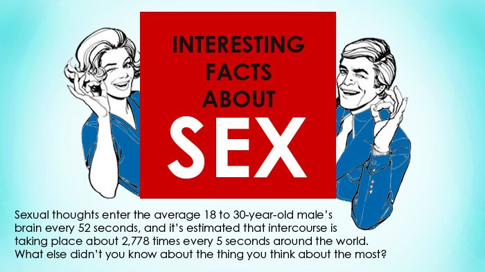 Some facts about sex