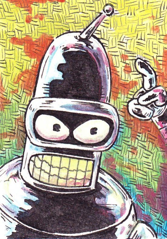 Futurama Inspired Artworks (39 pics)