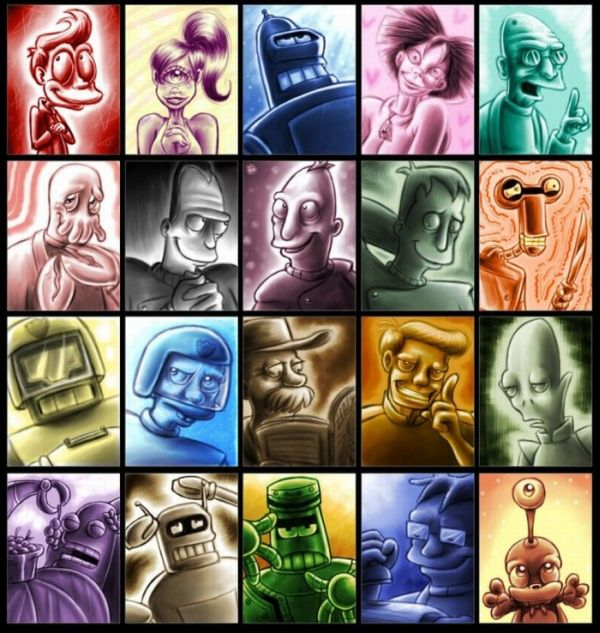 Futurama Inspired Artworks (39 pics)