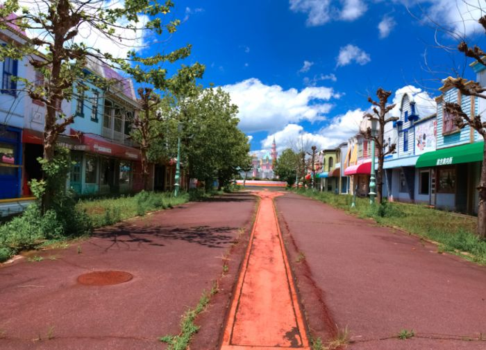 Nara Dreamland. Abandoned Theme Park in Japan (52 pics)